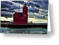 Big Red Holland Michigan Greeting Card