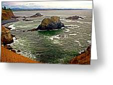 Big Rock Beach Greeting Card