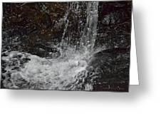 Big Rock Falls Greeting Card
