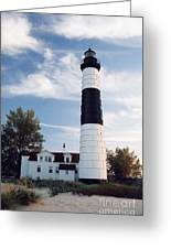 Big Sable Lighthouse Greeting Card