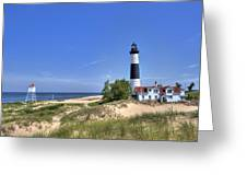 Big Sable Point Light Greeting Card