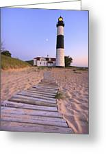 Big Sable Point Lighthouse Greeting Card