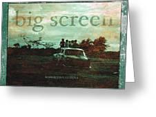 big Screen Greeting Card