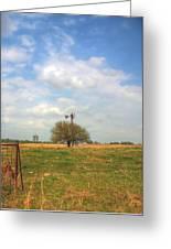 Big Skies Kansas Greeting Card