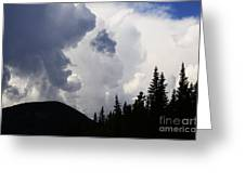 Big Sky Big Weather Greeting Card
