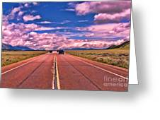 Big Sky Country Greeting Card