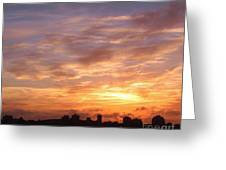 Big Sky Over Halifax Harbour Greeting Card