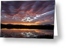 Big Sky Sunrise Greeting Card