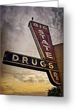 Big State Drugs Irving Greeting Card