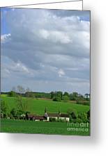 Big Suffolk Sky Greeting Card