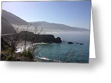 Big Sur Beach Greeting Card