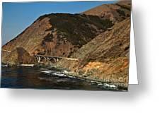 Big Sur Bridge Greeting Card