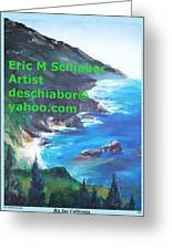 Big Sur Califorina Greeting Card
