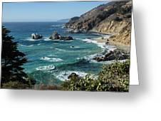 Big Sur Coast From Julia Pfeiffer Burns Greeting Card