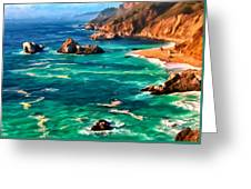 Big Sur Coast Greeting Card