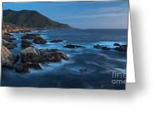 Big Sur Coastline Greeting Card by Mike Reid