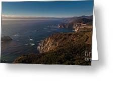 Big Sur Headlands Greeting Card