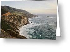 Big Sur Greeting Card by Heather Applegate