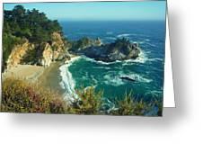 Big Sur Little Cove Greeting Card