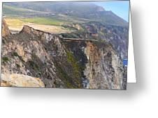 Big Sur Panorama Greeting Card