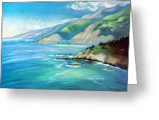Big Sur Serenity Greeting Card