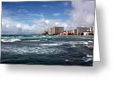 Big Surf Waikiki Greeting Card