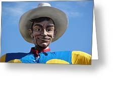 Big Tex Greeting Card
