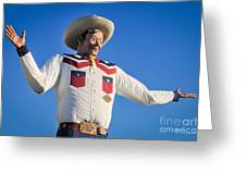 Big Tex - State Fair Of Texas - No. 2 By D. Perry Lawrence Greeting Card