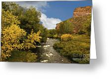 Big Thompson River 2 Greeting Card