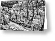 Big Thunder Mountain Railroad Greeting Card