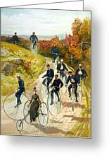 Big Wheel Bicycles Greeting Card
