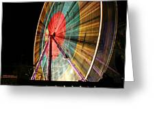 Big Wheel Edinburgh Greeting Card