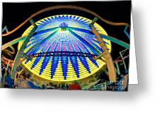 Big Wheel Keep On Turning Greeting Card by Mark Miller