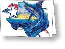 Bigger In Texas Greeting Card