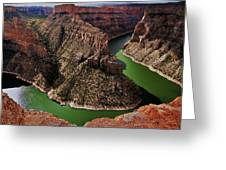 Bighorn Canyon Greeting Card