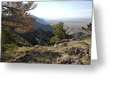 Bighorn Mountains-wy Greeting Card
