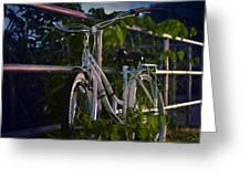 Bike Noir Greeting Card