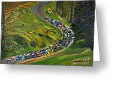 Bike Race Belgium Arden Spring Classics Greeting Card