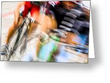 Bike Race I Greeting Card