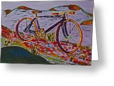 Bike Study Greeting Card