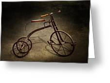 Bike - The Tricycle  Greeting Card