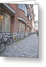 Bike Transportation Greeting Card