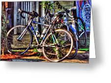 Bike Trek Greeting Card