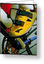 Biker Boy Foot Greeting Card