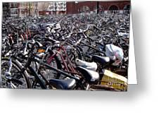 Bikes Greeting Card