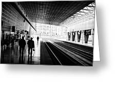 Bilbao Train Station Greeting Card
