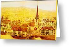 Bild Fraumuenster Greeting Card