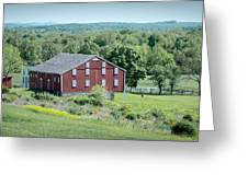 Bilgerville Road Farm  7d02271 Greeting Card