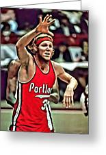 Bill Walton Greeting Card by Florian Rodarte