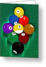 Billiards Art - Your Break 1 Greeting Card
